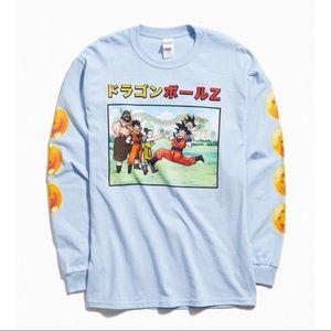Dragon Ball Z Graphic Long Sleeve Tee Top